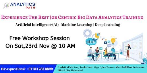 Register For Free Big Data Analytics Workshop On 23rd Nov @ 10 AM