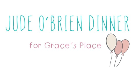 Jude O'Brien dinner for Grace's Place tickets