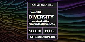 Event #4 Diversity: share similarities - celebrate...