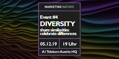 Event #4 Diversity: share similarities - celebrate differences Tickets