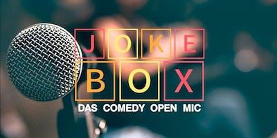 Jokebox | DAS Comedy Open Mic