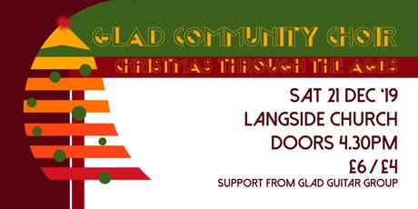 Glad Community Choir - Christmas Through the Ages tickets