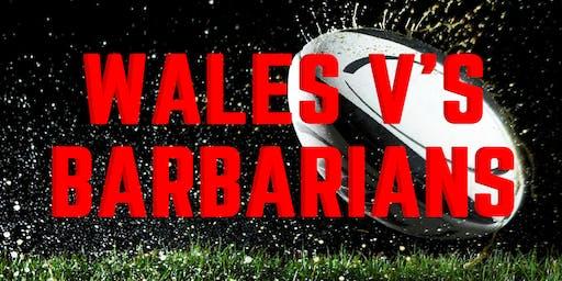 Wales v's Barbarians