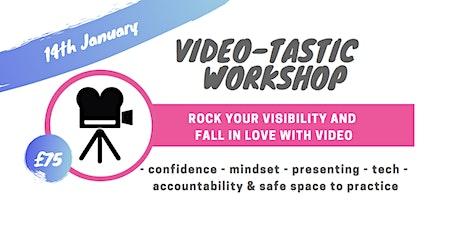 Video-tastic Workshop 2020 tickets