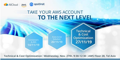 Take your AWS account to the next level - 3rd session - Cost Optimization tickets
