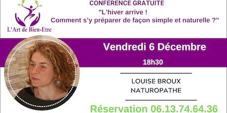 Conférence Gratuite sur la NATUROPATHIE billets