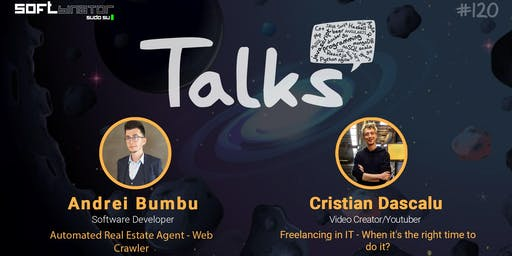Talks #120 - Automated Real Estate Agent - Web Crawler &  Freelancing in IT