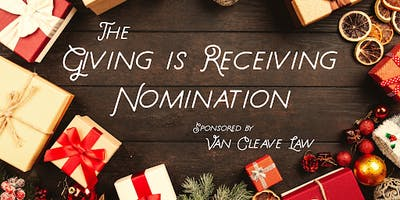 Giving is Receiving Nomination
