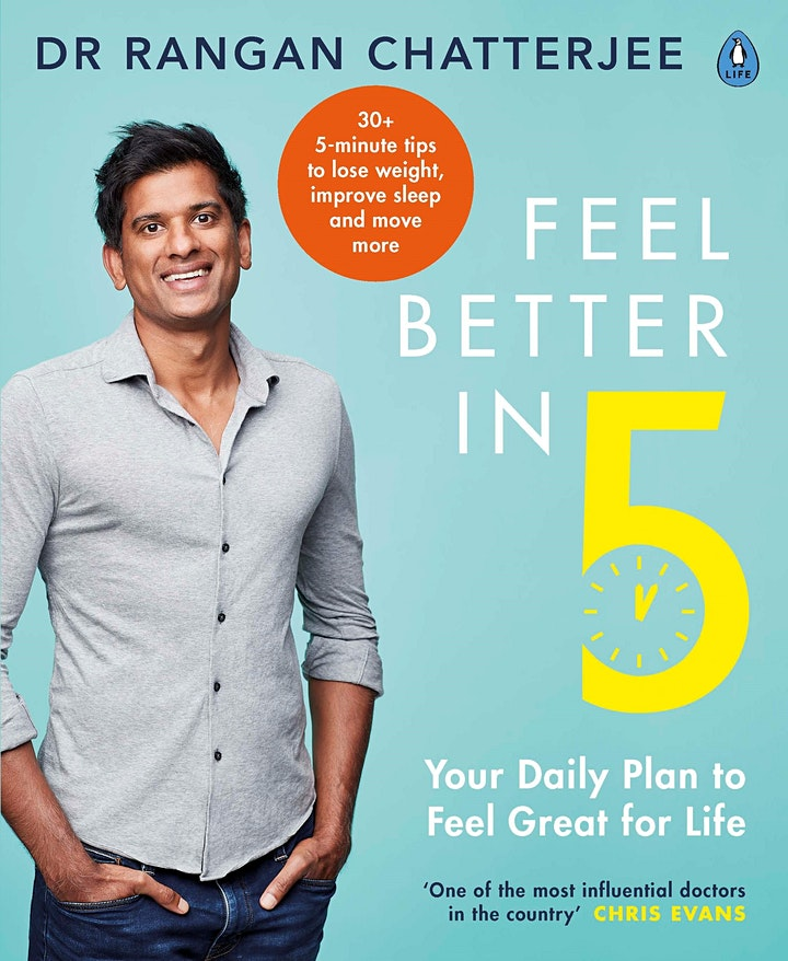 Bookomi X Ministry: Supercharge Your Health with Dr Rangan Chatterjee image