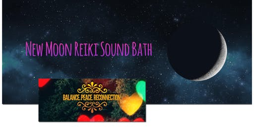New Moon Reiki and Sound Bath