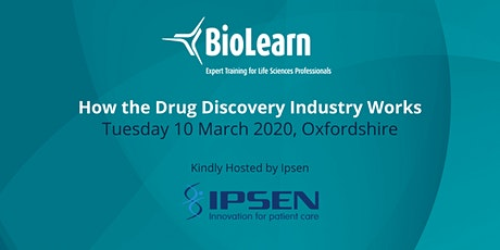 10 March 2020 - How the Drug Discovery Industry Works - Milton Park tickets