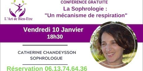 Conférence gratuite sur la Sophrologie billets