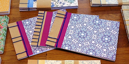 Book Binding - Japanese Stab Bound Notebooks