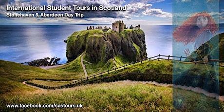 Stonehaven, Dunnottar Castle and Aberdeen Day Trip Sat 25 Jan tickets