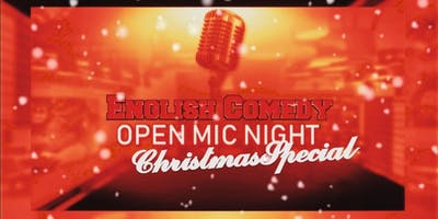 English Comedy | X-mas Special - Open Mic Night