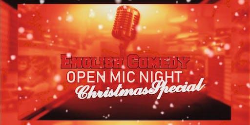 English Comedy | X-mas Special - Open Mic Night