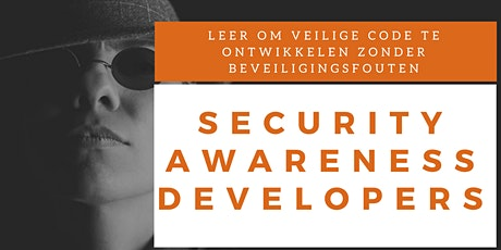 Security Awareness Developers Training (Nederlands) tickets