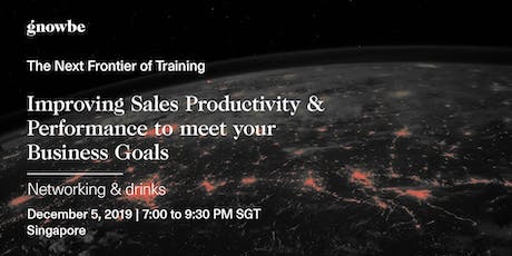 Increasing Sales Productivity and Financial Performance tickets