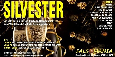 Salsa und Latain Silvester party Tickets