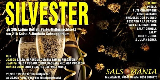 Salsa und Latain Silvester party
