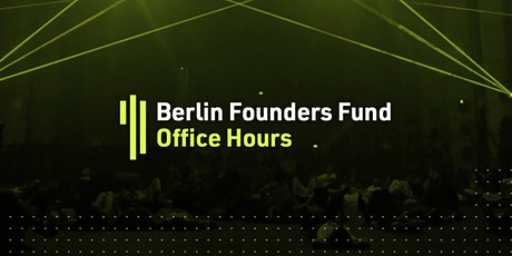 Berlin Founders Fund Office Hours tickets