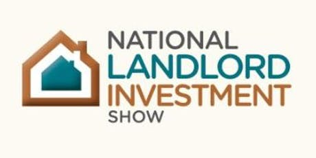National Landlord Investment Show, 11th June, Olympia London tickets