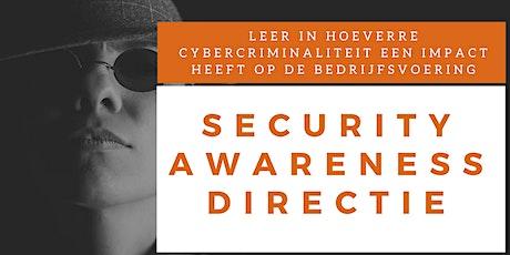 Security Awareness Directie Training (Nederlands) tickets
