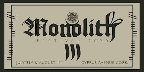 Monolith 2021 tickets