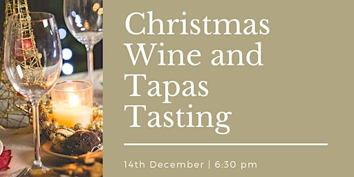 Christmas Special Wine and Tapas Tasting