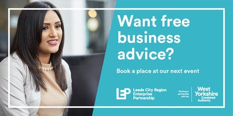 Bradford 'Ask The Expert' Business Advice Pop-Up Cafe tickets