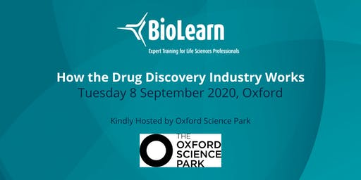 8 September 2020 - How the Drug Discovery Industry Works - Oxford