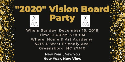 """#YoureWorthit.BDH Health and Wellness """"2020"""" Vision Board Party!"""