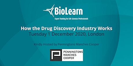 1 December 2020 - How the Drug Discovery Industry Works - London tickets