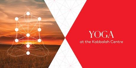 Yoga im Kabbalah Centre (DE-EN) Tickets