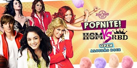 POPNITE! High School Musical x RBD ingressos