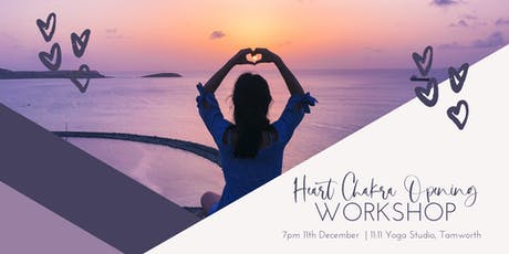 Heart Chakra Opening Workshop tickets