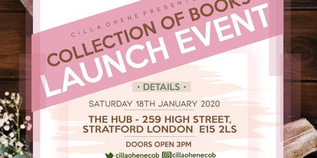 Cilla Ohene: Collection of Books tickets