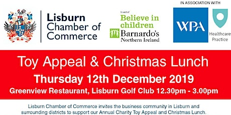 Charity Toy Appeal & Christmas Lunch 2019 in aid of Barnardo's Lisburn tickets