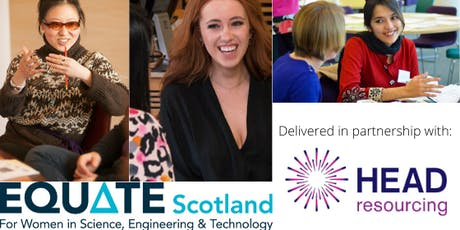 CVs and  Interview Skills Workshop  for Women in STEM tickets