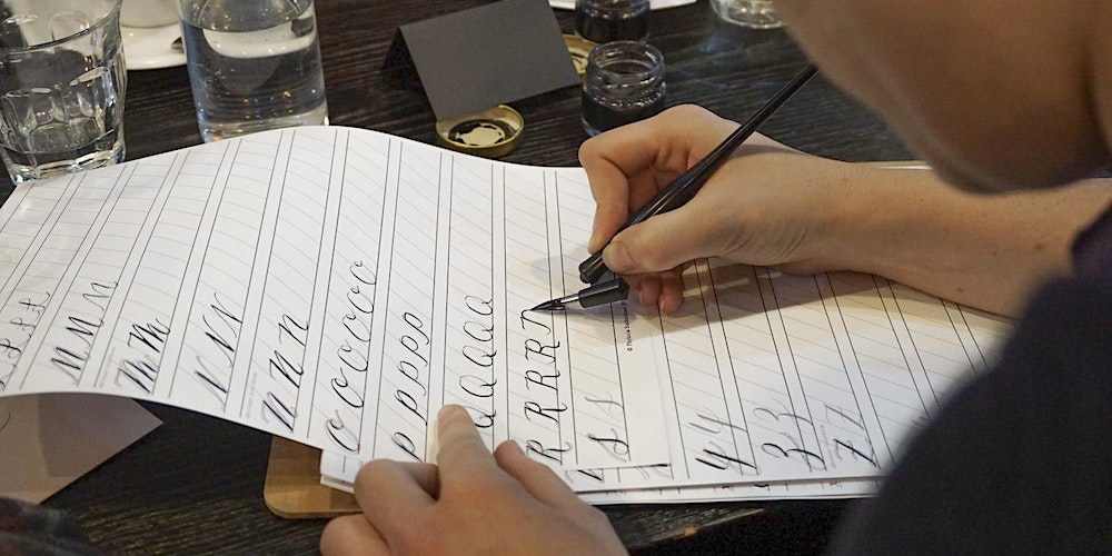 Introduction To Modern Calligraphy At North Star Coffee Shop Leeds