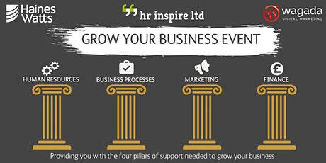 Grow Your Business Event tickets