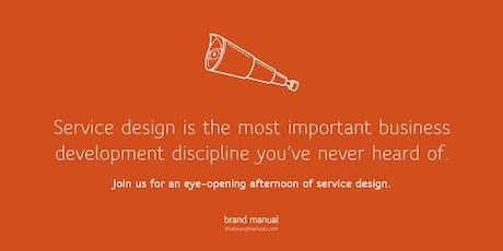 Introductie tot Service Design:  Leer in de schoenen van je klant te staan tickets