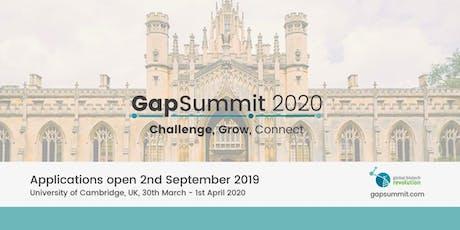 GapSummit 2020 tickets