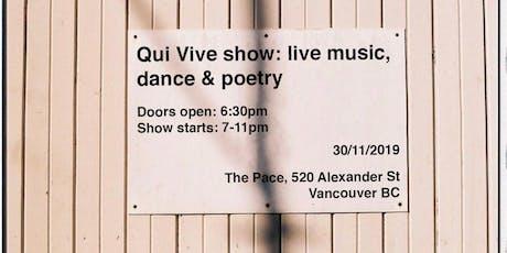QUI VIVE tickets