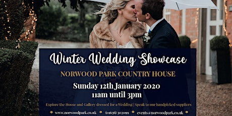 Winter Wedding Showcase at Norwood Park Country House tickets
