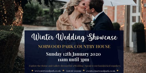 Winter Wedding Showcase at Norwood Park Country House