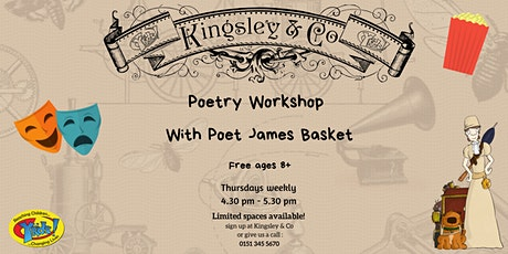 Poetry Workshop with James Basket  tickets
