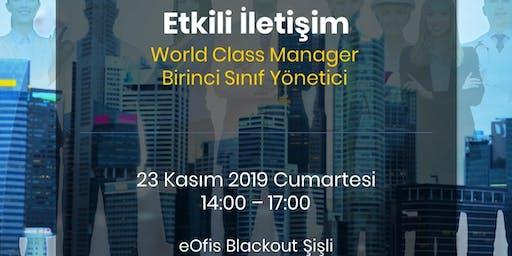 Etkili İletişim | World Class Manager Programı