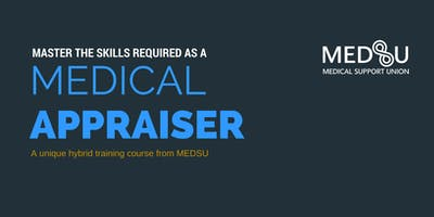 Train as Medical Appraiser - April 2020