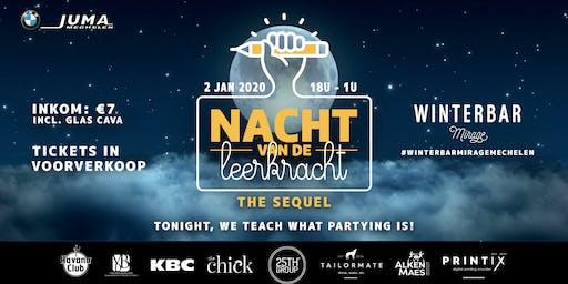 Winterbar Mirage Mechelen: Nacht van de Leerkracht